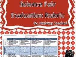 Science Fair Evaluation Rubric