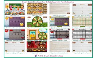Kooky-Class-Spanish-PowerPoint-Game-TEMPLATE.pptm