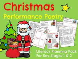 Christmas Performance Poetry
