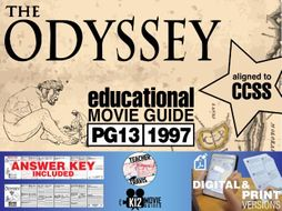The Odyssey Movie Guide | Questions | Worksheet (PG13 - 1997)