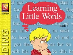 Learning Little Words (Book 1)