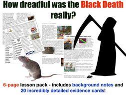 Black Death - 6 page lesson pack