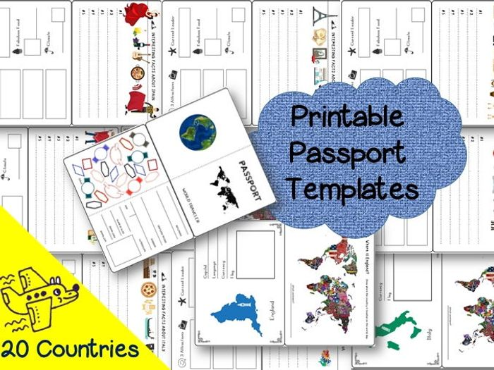 country templates