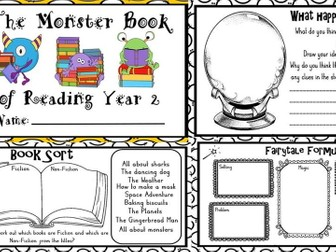 The Monster book of reading Year 2