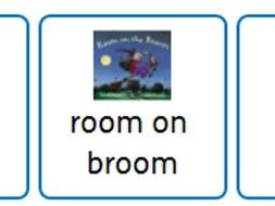 Popular Picture Books Choice Board