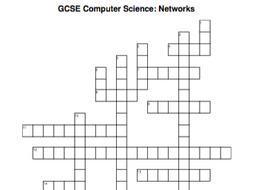 GCSE Computer Science crossword: Networks
