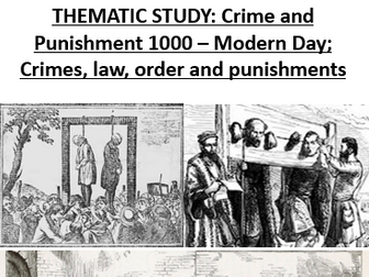 OCR Entry Level Crime and Punishment