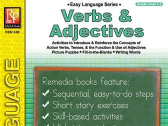 Verbs & Adjectives: Easy Language Series