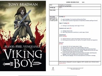Viking Boy Guided Reading Plans