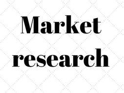 1.2.2 Market research GCSE Business Studies by