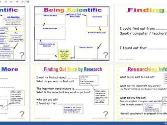 Being Scientific: Working Scientifically in enquiry and Investigation - Using Secondary Sources Edit