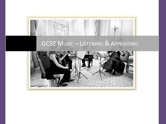 AQA GCSE Music Listening papers (with answers) NEW SPECIFICATION!