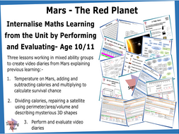 Age 10/11 Internalise Maths Learning from the Unit by Performing and Evaluating- Three Lessons