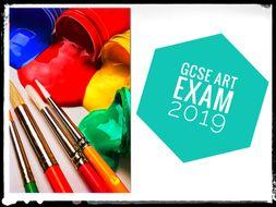GCSE REVISION. GCSE Art Exam 2019. AQA and EdExcel