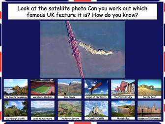 Investigating satellite photos of the UK