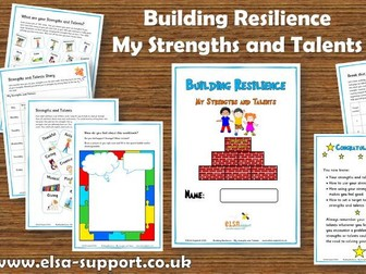 Building Resilience - My Strengths and Talents
