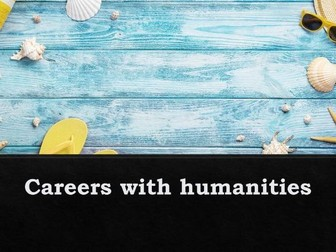 Increase knowledge of careers with humanities
