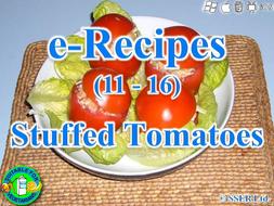 24. Stuffed Tomatoes (e-Recipe)