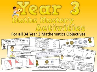 Year 3 Maths Mastery Activities