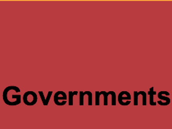 Types/Forms of Government