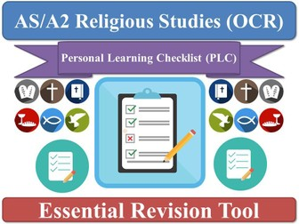 'Normative Ethical Theories' PLC OCR [Ethics] AS Religious Studies (OCR) Personal Learning Checklist