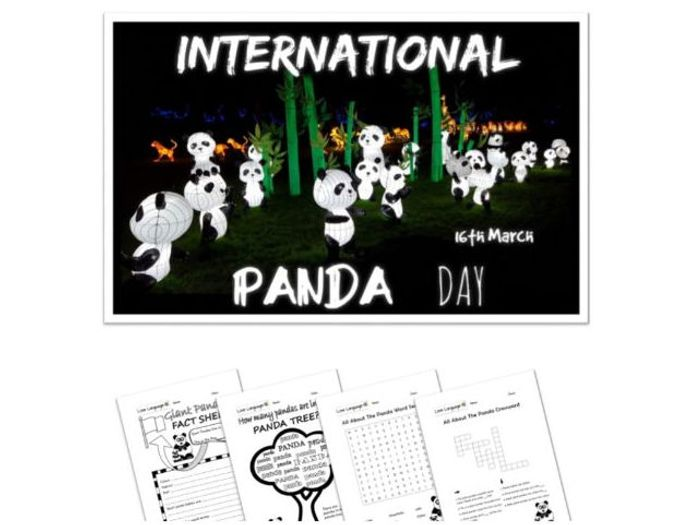 International Panda Day - Presentation and Activities by ...