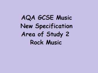 Rock Music GCSE Music AQA New Specification