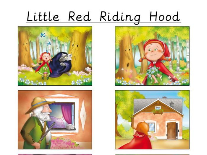 Story Sequencing - Little Red Riding Hood by teachingideas ...