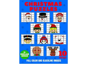 10 CHRISTMAS PUZZLES   CHRISTMAS CRAFTS FOR KIDS