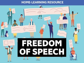 Home learning: Freedom of speech