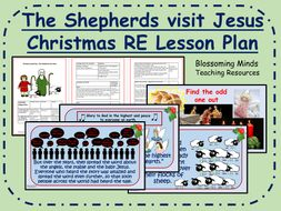 KS2 Christmas RE Lesson - The shepherds visit Jesus