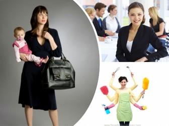 Spanish AS Level 3.1A La mujer en el mercado laboral (women in the labour market)