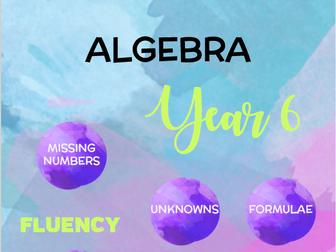 Year 6 Maths: Algebra
