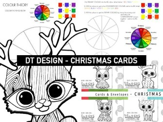KS 1, 2 & 3 CHRISTMAS CARDS | Colour theory | Wellbeing & Mindfulness Colouring | Pattern Puppies 2