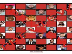 Celebrities Acting Irresponsibly Checker Board