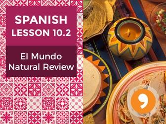 Spanish Lesson 10.2: El Mundo Natural Review