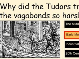 *FULL LESSON* Why Did the Tudors Treat the Vagabonds so Harshly? Crime and Punishment and Tudors
