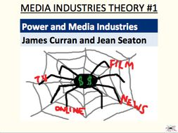 Power and Media Industries - Curran and Seaton (media industries theory #1)