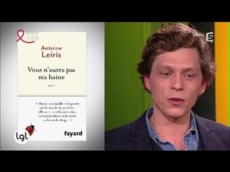 """""""Vous n'aurez pas ma haine"""" (Listening) - Interview of the author"""