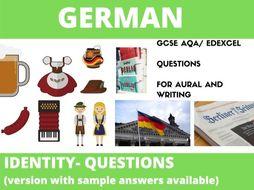 German  Identity Questions