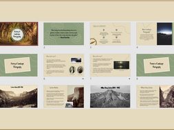 The History of Landscape Photography Powerpoint