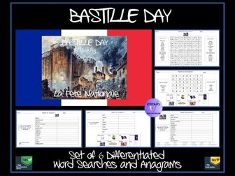 Bastille Day Puzzle Pack