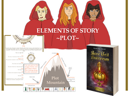 Elements of Story - Plot -  For use with the middle grade novel, Miist by Kamilla Reid