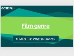 Eduqas GCSE Film Component 3: Introduction to Film Genre