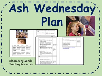 Ash Wednesday Lesson Plan