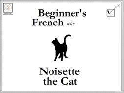 French: Beginner's French with Noisette the Cat