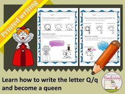 Learn how to write the letter q printed style and become a queen learn how to write the letter q printed style and become a queen expocarfo Images