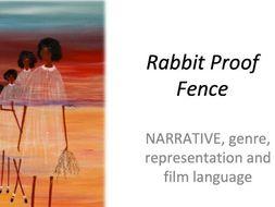 RABBIT PROOF FENCE REVISION LEARNING MAT WJEC / EDUQAS GCSE FILM STUDIES
