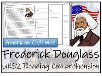 UKS2 History - Frederick Douglass Reading Comprehension Activity