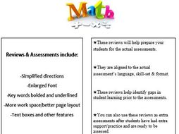 Grade 1, Math Module 4 REVIEW & ASSESSMENT w/Ans keys (printables & Smart Board)